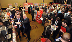 31-01-12: Brian Daly, BWG and Bobby Kerr, Insomnia Coffee Company, at  the  BWG Foods retailer meeting and exhibition   in the Radisson Little Island, Cork . Picture: MacMonagle, Killarney