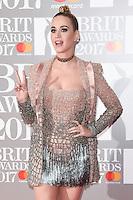 UK: Brit Awards 2017