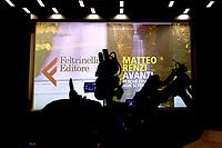 Matteo Renzi<br /> Roma 12/07/2017. Presentazione del libro di Matteo Renzi 'Avanti, perche' l'Italia non si ferma'.<br /> Rome July 12th 2017. Presentation of the new Matteo Renzi's book. <br /> Foto Samantha Zucchi Insidefoto