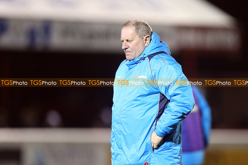 Assistant manager Terry Harris of Dagenham during Dagenham & Redbridge vs Maidstone United , Vanarama National League Football at the Chigwell Construction Stadium on 28th February 2017