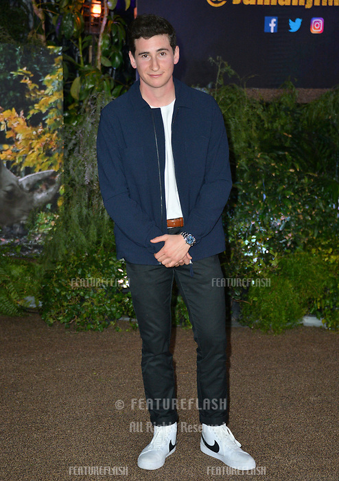 Sam Lerner at the Los Angeles premiere of &quot;Jumanji: Welcome To the Jungle&quot; at the TCL Chinese Theatre, Hollywood, USA 11 Dec. 2017<br /> Picture: Paul Smith/Featureflash/SilverHub 0208 004 5359 sales@silverhubmedia.com