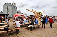 Culinair festival  Het Hoofdgerecht op het Stenen Hoofd in Amsterdam.