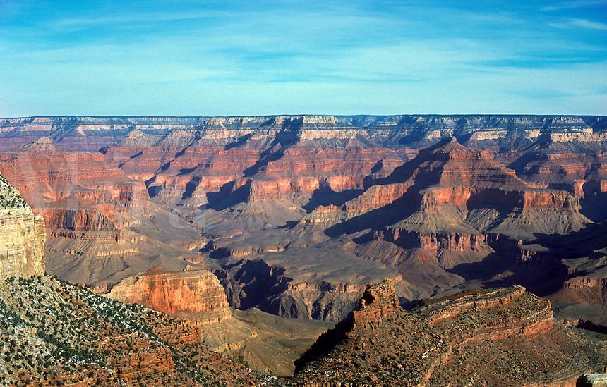 Grand Canyon, Arizona, in winter.