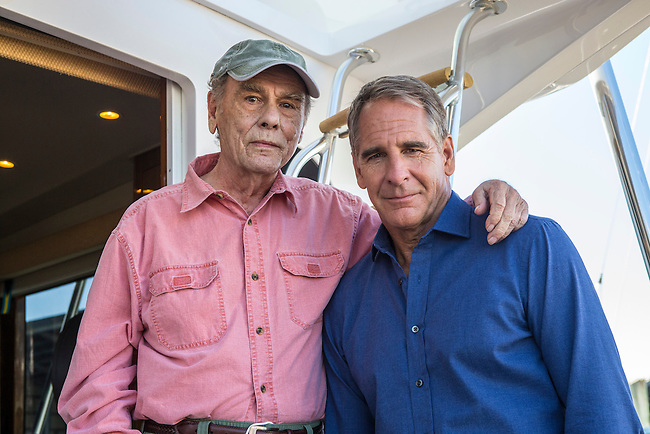 "Behind the scenes with Dean Stockwell and Scott Bakula reunited again in CBS's ""NCIS: New Orleans"" Season 1"