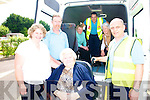 Kerry flyer who operate a bus service in the Castleisland area from left Marcella Finn, Pat Aherne, Kathleen Riedy and Robert Templeman. Ar Back LAura O'Sullivan Gareth Lawless and Geraldine Spinblow.