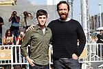 Actors Matthew Macfadyen (r) and Logan Lerman during the 59th San Sebastian Donostia International Film Festival - Zinemaldia.September 23,2011.(ALTERPHOTOS/ALFAQUI/Acero)