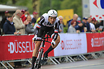 Nikias Arndt (GER) Team Sunweb in action during Stage 1, a 14km individual time trial around Dusseldorf, of the 104th edition of the Tour de France 2017, Dusseldorf, Germany. 1st July 2017.<br /> Picture: Eoin Clarke | Cyclefile<br /> <br /> <br /> All photos usage must carry mandatory copyright credit (&copy; Cyclefile | Eoin Clarke)