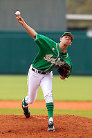 Notre Dame Fighting Irish pitcher Christian Torres #17 delivers a pitch during a game against the Purdue Boilermakers at the Big Ten/Big East Challenge at Al Lang Stadium on February 19, 2012 in St. Petersburg, Florida.  (Mike Janes/Four Seam Images)