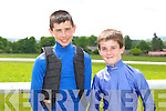 At the Races Conor Keane and Jerome Power at the Castleisland Races on Sunday