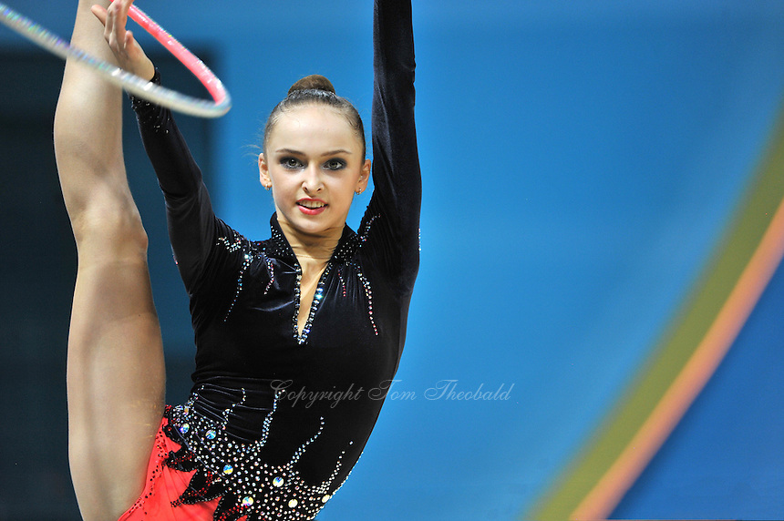 August 30, 2013 - Kiev, Ukraine - MARINA DURUNDA of Azerbaijan performs at 2013 World Championships.