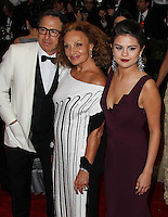 "NEW YORK CITY, NY, USA - MAY 05: David O. Russell, Diane Von Furstenberg, Selena Gomez at the ""Charles James: Beyond Fashion"" Costume Institute Gala held at the Metropolitan Museum of Art on May 5, 2014 in New York City, New York, United States. (Photo by Xavier Collin/Celebrity Monitor)"