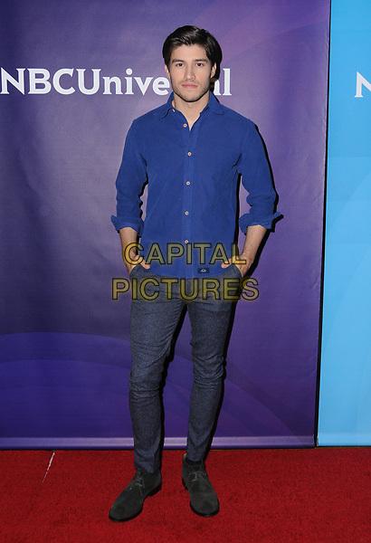 09 January 2018 - Pasadena, California - Cameron Cuffe. 2018 NBCUniversal Winter Press Tour held at The Langham Huntington in Pasadena. <br /> CAP/ADM/BT<br /> &copy;BT/ADM/Capital Pictures