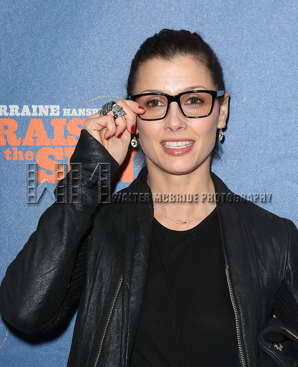 Bridget Moynihan attending the Broadway Opening Night Performance of 'A Raisin In The Sun'  at the Barrymore Theatre on April 3, 2014 in New York City.
