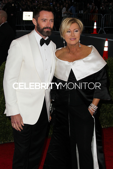 "NEW YORK CITY, NY, USA - MAY 05: Hugh Jackman, Deborra-Lee Furness at the ""Charles James: Beyond Fashion"" Costume Institute Gala held at the Metropolitan Museum of Art on May 5, 2014 in New York City, New York, United States. (Photo by Xavier Collin/Celebrity Monitor)"