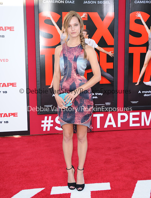 Bailey Noble attends The L.A. Premiere of Sex Tape held at The Regency Village Theatre  in Westwood, California on July 10,2014                                                                               © 2014 Hollywood Press Agency