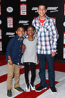 HOLLYWOOD, LOS ANGELES, CA, USA - NOVEMBER 04: Miles Brown, Marsai Martin, Marcus Scribner arrive at the Los Angeles Premiere Of Disney's 'Big Hero 6' held at the El Capitan Theatre on November 4, 2014 in Hollywood, Los Angeles, California, United States. (Photo by David Acosta/Celebrity Monitor)