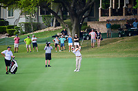 Bill Haas (USA) hits his approach shot on 5 during round 6 of the World Golf Championships, Dell Technologies Match Play, Austin Country Club, Austin, Texas, USA. 3/26/2017.<br /> Picture: Golffile | Ken Murray<br /> <br /> <br /> All photo usage must carry mandatory copyright credit (&copy; Golffile | Ken Murray)
