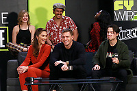 NEW YORK, NY - OCTOBER 5: Teagan Croft, Minka Kelly, Brenton Thwaites, Alan Ritchson, Anna Diop and Ryan Potter at the Titans Cast Interview during the 2018 New York Comic Con at The Jacob K. Javits Convention Center in New York City on October 5, 2018. <br /> CAP/MPI99<br /> &copy;MPI99/Capital Pictures