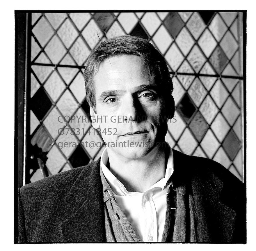 Jeremy Irons,actor.CREDIT Geraint Lewis