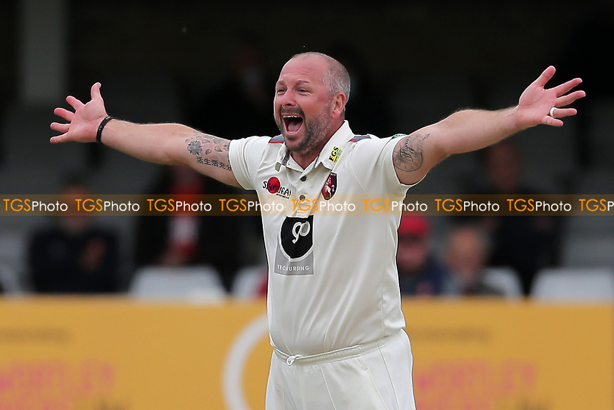 Darren Stevens of Kent appeals for a wicket during Essex CCC vs Kent CCC, Specsavers County Championship Division 1 Cricket at The Cloudfm County Ground on 29th May 2019
