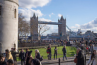 Tower Bridge from the Tower of London.