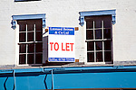 To Let sign on building