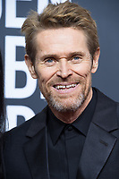 Nominated for BEST PERFORMANCE BY AN ACTOR IN A SUPPORTING ROLE IN A MOTION PICTURE for his role in &quot;The Florida Project,&quot; actor Willem Dafoe attends the 75th Annual Golden Globes Awards at the Beverly Hilton in Beverly Hills, CA on Sunday, January 7, 2018.<br /> *Editorial Use Only*<br /> CAP/PLF/HFPA<br /> &copy;HFPA/PLF/Capital Pictures