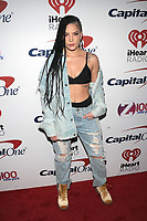 NEW YORK, NY - DECEMBER 8: Halsey at Z100's Jingle Ball 2017 at Madison Square Garden in New York City, Credit: John Palmer/MediaPunch /nortephoto.com NORTEPHOTOMEXICO