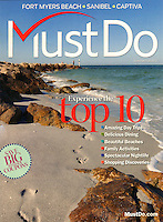 Cover photo by Debi Pittman Wilkey, MustDo Visitor's Guide, covering Fort Myers Beach, Sanibel, Captiva in Southwest Florida, USA.