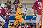 Costa Mesa, CA 03/08/14 - CP Peralla (UCSB #12) in action during the MCLA Loyola Marymount vs UC Santa Barbara men's lacrosse game as part of the 2014 Pacific Shootout.  UCSB defeated LMU 12-7 at Le Bard Stadium.