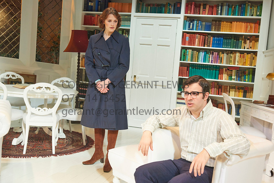 The Philanthropist by Christopher Hampton, directed by Simon Callow. With Simon Bird as Philip, Charlotte Ritchie as Celia. Opens at The Trafalgar Studios Theatre on 14/3/18