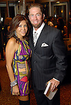 Ericka and Jeff Bagwell at the Una Notte in Italia party at the Intercontinental Houston Hotel Saturday Nov. 07,2009. (Dave Rossman/For the Chronicle)