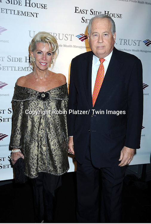 Cece and Lee Black attending The 2011 Winter Antiques Show Opening Night on January 20, 2011 at The Park Avenue Armory in New York City.