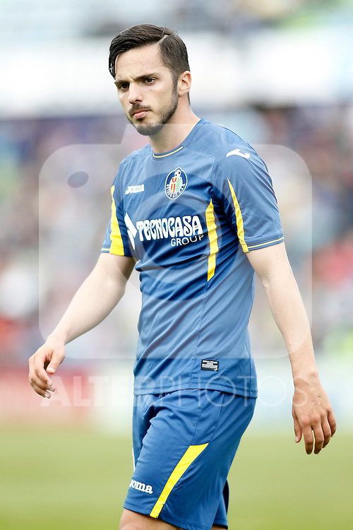 Getafe's Pablo Sarabia during La Liga match. April 16,2016. (ALTERPHOTOS/Acero)