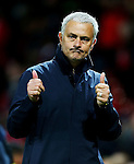 Manchester United manager Jose Mourinho gives a thumbs up at full time during the UEFA Europa League match at Old Trafford Stadium, Manchester. Picture date: September 29th, 2016. Pic Matt McNulty/Sportimage