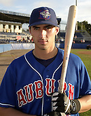 August 28, 2004:  Chip Cannon of the Auburn Doubledays, Short-Season Single-A affiliate of the Toronto Blue Jays, during a game at Dwyer Stadium in Batavia, NY.  Photo by:  Mike Janes/Four Seam Images