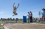 Fallon's W.Skaelund won the girls long jump during the Reed Sparks Rotary Invitational track and field event at Reed High School in Sparks, Saturday, April 1, 2017.