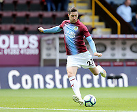Burnley's Stephen Ward during the pre-match warm-up <br /> <br /> Photographer Rich Linley/CameraSport<br /> <br /> The Premier League - Burnley v Manchester City - Sunday 28th April 2019 - Turf Moor - Burnley<br /> <br /> World Copyright © 2019 CameraSport. All rights reserved. 43 Linden Ave. Countesthorpe. Leicester. England. LE8 5PG - Tel: +44 (0) 116 277 4147 - admin@camerasport.com - www.camerasport.com
