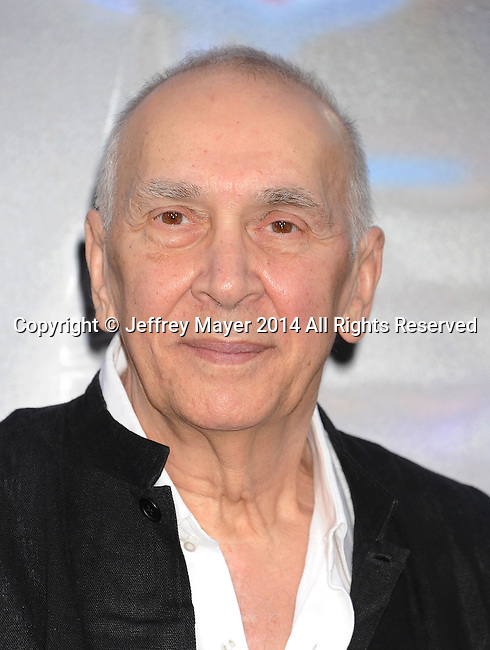 WESTWOOD, CA- APRIL 07: Actor Frank Langella attends the Los Angeles premiere of 'Draft Day' at the Regency Village Theatre on April 7, 2014 in Westwood, California.