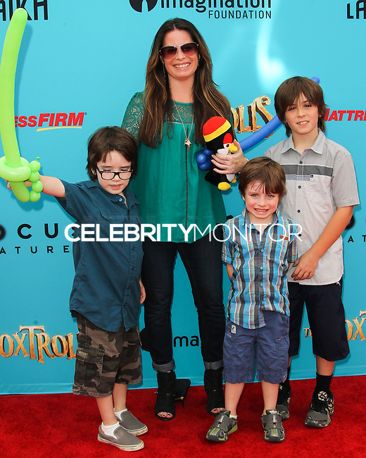 UNIVERSAL CITY, CA, USA - SEPTEMBER 21: Holly Marie Combs at the Los Angeles Premiere Of Focus Features' 'The Boxtrolls' held at Universal CityWalk on September 21, 2014 in Universal City, California, United States. (Photo by Celebrity Monitor)