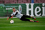 Spanje, Barcelona, 20 oktober 2014<br /> Seizoen 2014-2015<br /> Champions League<br /> Training Ajax in Camp Nou<br /> Jasper Cillessen, keeper (doelman) van Ajax