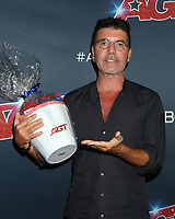 """LOS ANGELES - SEP 17:  Simon Cowell at the """"America's Got Talent"""" Season 14 Live Show Red Carpet - Finals at the Dolby Theater on September 17, 2019 in Los Angeles, CA"""