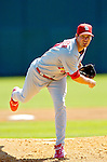8 March 2006: Chris Carpenter, pitcher for the St. Louis Cardinals, on the mound during a Spring Training game against the Washington Nationals. The Cardinals defeated the Nationals 7-4 in 10 innings at Space Coast Stadium, in Viera, Florida...Mandatory Photo Credit: Ed Wolfstein.