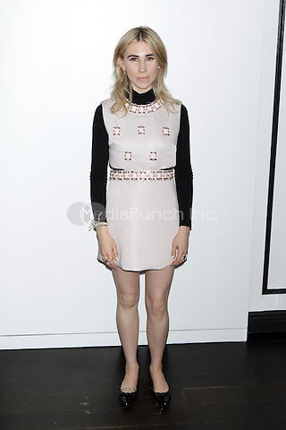 NEW YORK, NY - MARCH 22: Zosia Mamet at the Kate Spade New York Housewarming Pop-Up Event in New York City on March 22, 2106. Credit: Diego Corredor/MediaPunch