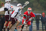 Los Angeles, CA 03/23/11 - Alex Demmeno (LMU #3) and Nate Coburn (Illinois #13) in action during the Illinois-LMU non conference MCLA game at Loyola Marymount University.