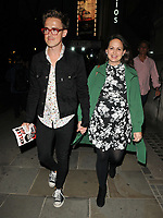 Tom Fletcher and Giovanna Fletcher at the &quot;Killer Joe&quot; press night departures, Trafalgar Studios, Whitehall, London, England, UK, on Monday 04 June 2018.<br /> CAP/CAN<br /> &copy;CAN/Capital Pictures