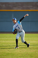 Ethan Durant (8) of Woodland Hills-Taft High School in Tarzana, California during the Baseball Factory All-America Pre-Season Tournament, powered by Under Armour, on January 14, 2018 at Sloan Park Complex in Mesa, Arizona.  (Zachary Lucy/Four Seam Images)