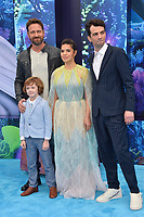 "LOS ANGELES, CA. February 09, 2019: Gerard Butler, AJ Kane, America Ferrera &  Jay Baruchel at the premiere of ""How To Train Your Dragon: The Hidden World"" at the Regency Village Theatre.<br /> Picture: Paul Smith/Featureflash"