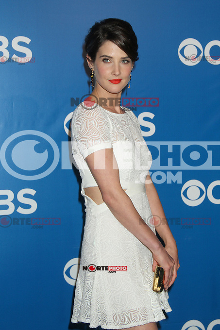 Cobie Smulders at the 2012 CBS Upfront at The Tent at Lincoln Center on May 16, 2012 in New York City. ©RW/MediaPunch Inc.