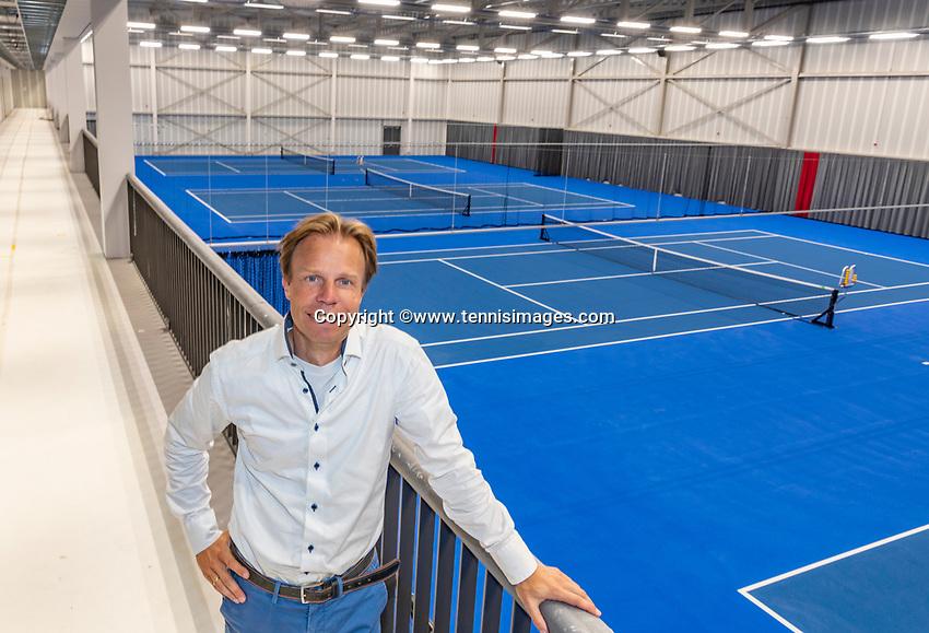 Hilversum, The Netherlands,  August 23, 2019,  Tulip Tennis Center, NSK, KNLTB director Erik Poel<br /> Photo: Tennisimages/Henk Koster
